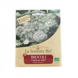 Graines bio - Brocolis Calabrais Hatif 100gn - La Semence Bio