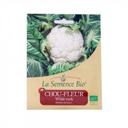 La coliflor BLANCA ROCA de 30 semillas - Semillas Orgánicas