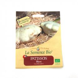 Graines bio - Patisson blanc 10 graines - La Semence Bio