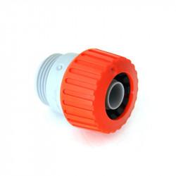 Raccord Male autoserrant pour tuyau 15mm - Siroflex irrigation,arrosage