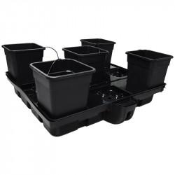 Systeme hydroponique HydroStar 120 - 5 Big Pots 25L - Platinium Hydroponics