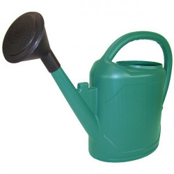 El riego puede oval 10L de color Verde oscuro con apple - Belli