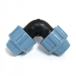 Raccord compression coude FF 2 x Ø 16mm