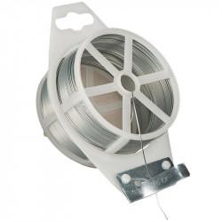 Rouleau de fil de fer galvanisé - 50 m - Ø 0.7 mm