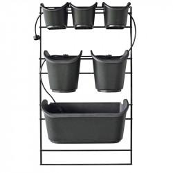 Kit complet pour mur végétal - 84 x 48 cm - potager vertical design