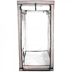 Chambre de culture beige 100 x 100 x 200 cm - Black Silver Premium
