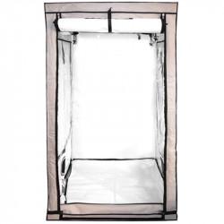 Chambre de culture beige 120 x 120 x 200 cm - Black Silver Premium