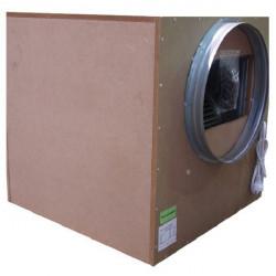 Vivienda insonorizadas con extractor de aire de 2500 m3/h - Brida 2x250mm - Winflex