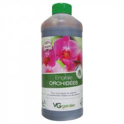 Engrais biologique et vegan pour Orchidées 1L - VG Garden