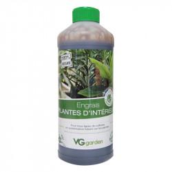 Fertilizante orgánico y vegano para plantas de interior 1L - VG Jardín