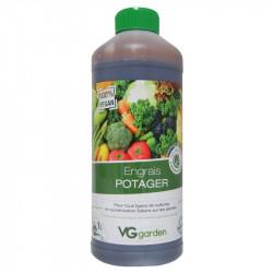 Engrais biologique et vegan pour Potager 1L - VG Garden