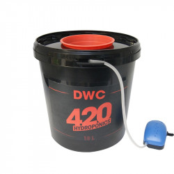 DWC 10L - Sistema completo - 420 Hidroponía