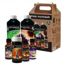 Starter pack Orgánica 6-fertilizantes - Tierra de Coco - Platinium Nutrientes