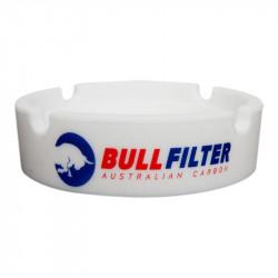 Cenicero de silicona blanca - Bullfilter