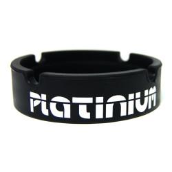 Cendrier en silicone noir - Platinium