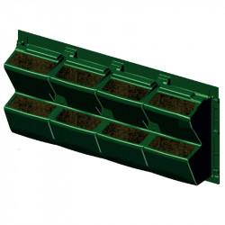 La pared de las plantas para el interior o el exterior de 90 x 43 cm - ModuloGreen