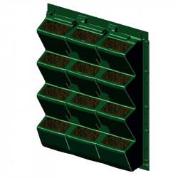 El verde de la pared interior o exterior de 60 x 81 cm - ModuloGreen