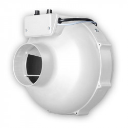 Extractor de aire de la Prima Klima 125 mm 400 m3/h termostato + dimmer