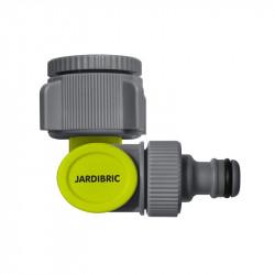 Nez de robinet coudé et articulé à 90° - 26x34 et 20x27 - Jardibric