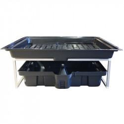 Système de table à marée Flowtable Pro 1.44m2 - Platinium Hydroponics