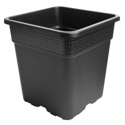 Maceta cuadrada de 25 litros - Nuova pasquini e bini spa