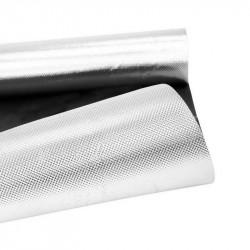 Mylar Diamante Negro en el metro de 1.2 x 1m - 110-micra - Superplant