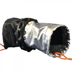 Calcetín doble para el paso de cables Ø70mm - Jardín Secreto