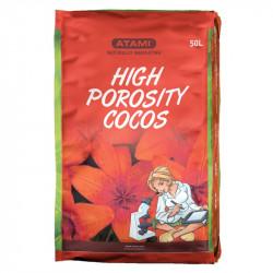 Alta Porosidad Cocos - 50 Litros de fibra de coco y perlita - Atami