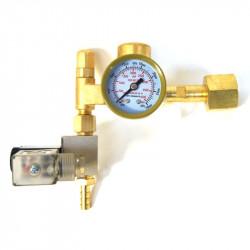 Manomètre électrovanne régulateur de CO2 Ecotechnics