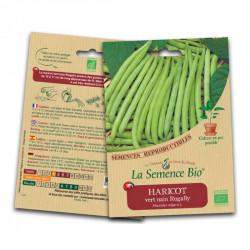 Graines Bio - Haricot vert nain Rugally 50g - La Semence Bio