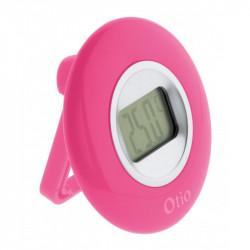 Termómetro con pantalla LCD - Rosa - Otio