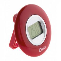 Thermomètre à écran LCD - Rouge - Otio