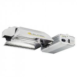 Système Pro DE 600-1150W - ballast + réflecteur - Calitek + dimmer Super Par 15%