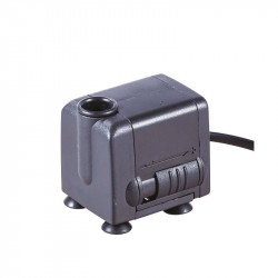 Pompe à eau submersible 500L/h - Hauteur max 80cm - Platinium