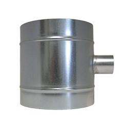 Raccord de ventilation en T - 2x200mm et 50mm - Winflex