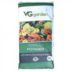Tierra para macetas de Jardín de vegetales 40L - VG Jardín