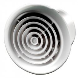 Aérateur / Extracteur d'air 150mm - Chrome - Winflex Ventilation