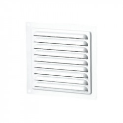 Grille d'aération carrée 200mm - Aluminium - Winflex Ventilation