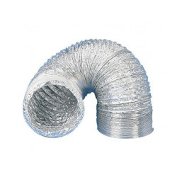 La vaina de aluminio extractor y aireador de aire de Ø 100 mm x 3 m conducto de ventilación