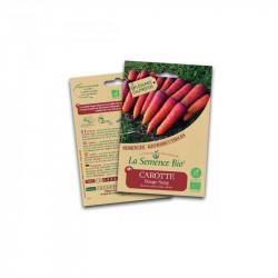 Orgánico de semillas de Zanahoria Rojas de la Sangre - de Semillas Orgánicas