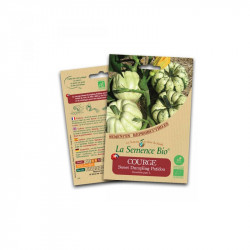 Graines bio Courge Sweet Dumpling Patidou - La Semence Bio