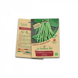 Graines bio Haricot Vert Grimpant Emerite - La Semence Bio
