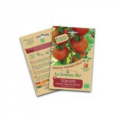 Semillas ecológicas Tomate Cóctel Tigerella dos-tono - La Semilla Orgánica