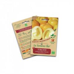 Semillas ecológicas Tomate Pimiento amarillo, Vicente - La Semilla Orgánica