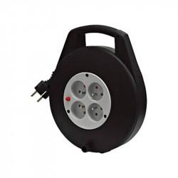 Enrouleur de câble et multiprise KB4P (10m) - Brennenstuhl