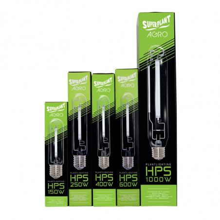 Ampoule HPS Agro 250W - 2000°K - Croissance / Floraison - Superplant