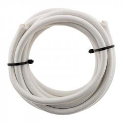 Câble Électrique Textile 3G1mm2 Blanc Long 3M Elexity