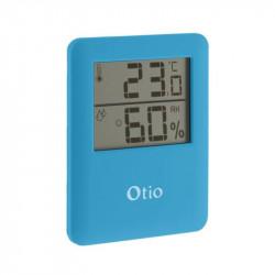 Thermomètre / Hygromètre 6.5x8cm - Bleu - Otio