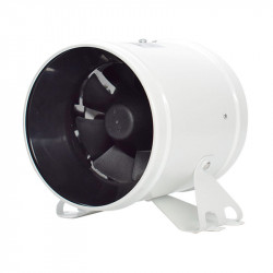 Extracteur d'air Bullfan Inline EC Fan 250mm 1808m3/h - Bullfilter