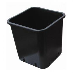 Maceta de plástico de la plaza de 11 litros - Nuova pasquini e bini spa